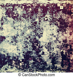 Aged vintage background with weathered texture, grunge...