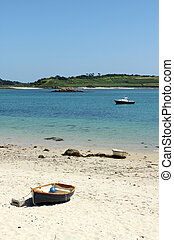 Green bay beach, Bryher Isles of Scilly.