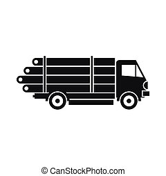 Logging truck Clipart Vector Graphics. 211 Logging truck ...