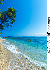 Sea view in Sithonia, Chalkidiki, Greece