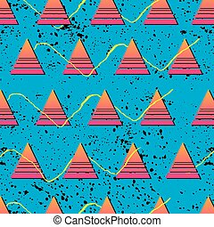 Retro 1980s Patterns - Vibrant and colourful patterns...