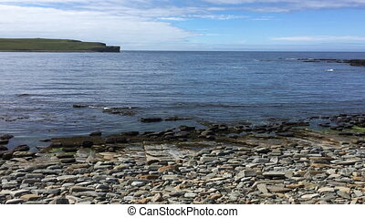 View at the Bay of Skaiil, Orkney