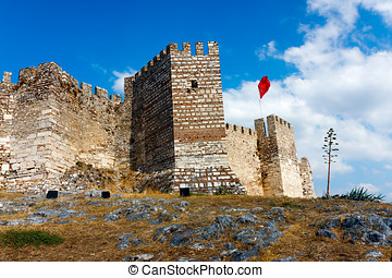 Ayasuluk Castle - Selcuk Citadel near Ephesus. The Ayasoluk...