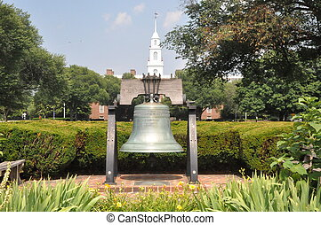 In Dover, Delaware - Full Sized Replica Of The Liberty Bell...