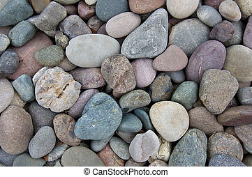 River Rock Background - Colorado river rocks make a nice...