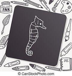 Hippocampus doodle