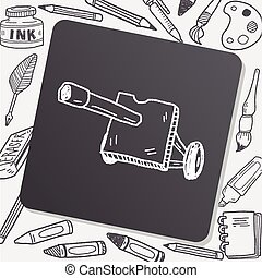 cannon doodle