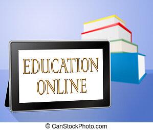 Education Online Means Web Site