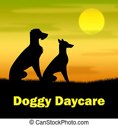 Doggy Daycare Represents Canines Pa - Doggy Daycare...