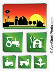 Agriculture - Icon set