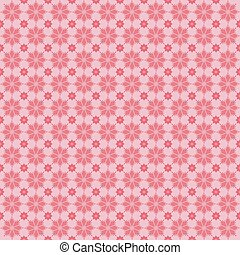 Floral pattern, vintage background in pink tones