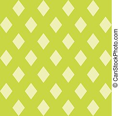 Modern colorful pattern with geometric design. Green image.