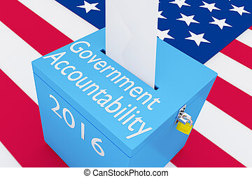 Government Accountability 2016 concept