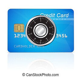 Credit card safety concept
