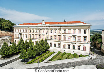 Opulent architecture in Esztergom, Hungary Architectural...