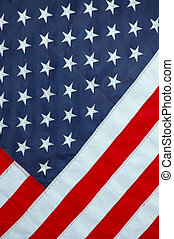 Patriotic Background Image of an American Flag