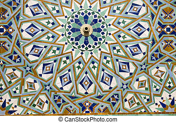 Arab mosaic - Moroccan style ceramic mosaic - Best of...