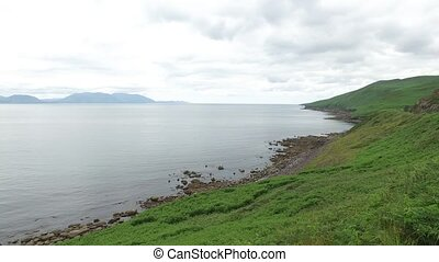 view to ocean at wild atlantic way in ireland 69 - nature...
