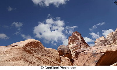 Wadi Rum Desert,Jordan,Middle East-- also known as The...