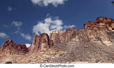 Wadi Rum Desert,Jordan, Middle East - Wadi Rum Desert,...
