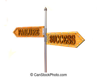 blank arrows directions. Failure and Success