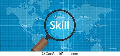 skill shortages find search talented worker qualification
