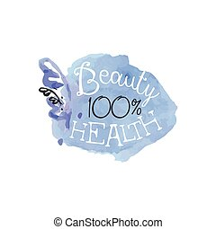 Percent Health Beauty Promo Sign - 100 Percent Health Beauty...