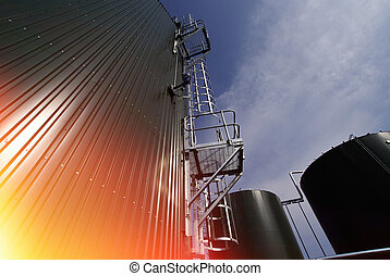 Abstract industrial background