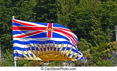 Beautfiul British Columbia - Beautiful British Columbia flag