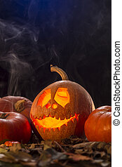 Handmade decoration for a halloween party - Shot of...