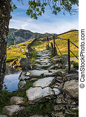 Old bridge over River Brathy, Little Langdale - The Slaters...