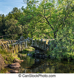 Little Langdale, Slaters Bridge - The Slaters Bridge in...