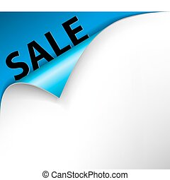 Sale corner background