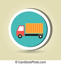 truck cargo delivery goods