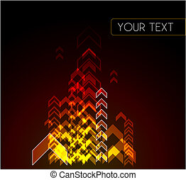 Colourful abstract background