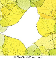 Leaves autumn background vector abstract illustration card...