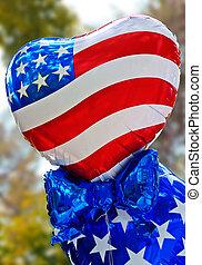 balões, EUA