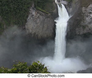 San Rafael Falls, Ecuador - In the Amazonian foothills of...