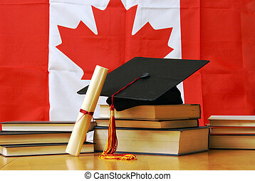 Canadian Academic Learning - A theme based image of canadian...