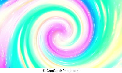 Particle twist looping backgrounds - Multi color particle...