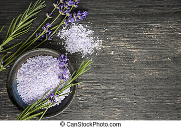 Body care - Bath salts herbal body care product with fresh...