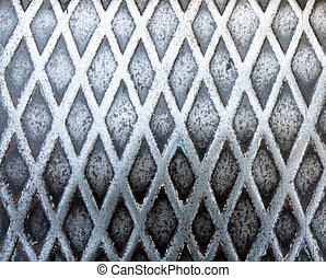 Industrial metal - Industrial background from metal surface...