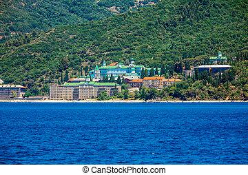 Saint Panteleimon Monastery, Mount Athos - Saint Panteleimon...