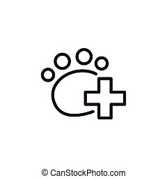 Veterinary care icon
