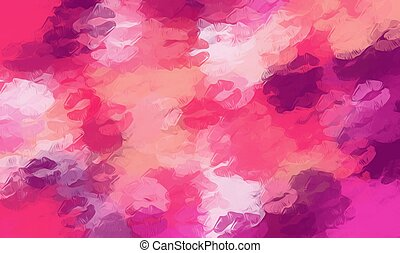 pink and purple kisses lipstick abstract background