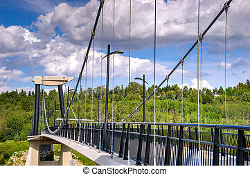 Fort Edmonton Park Foot Bridge - Fort Edmonton Park...