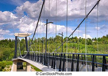 Fort Edmonton Park Foot Bridge - Fort Edmonton Park...