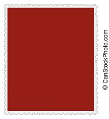 Blank Stamp Background