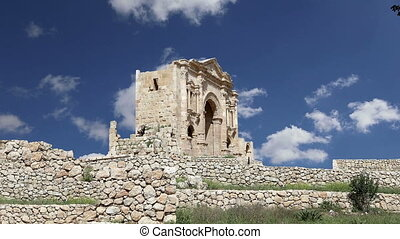 Arch of Hadrian in GerasaJordan - Arch of Hadrian in Gerasa...