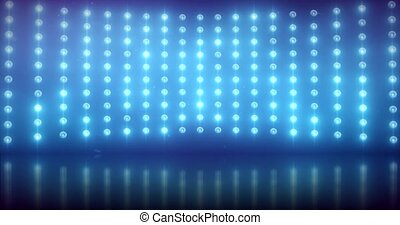 Blue Light Wall - background.